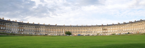 Bath. Royal Crescent