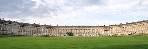 Bath. Royal Crescent