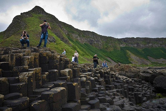 Over the last three years there has been a 35 per cent increase in Chinese visitors at Giant's Causeway